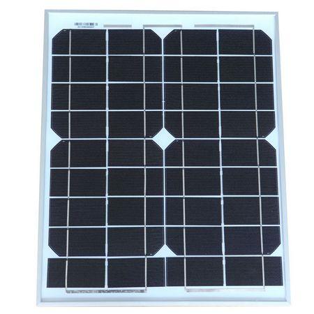 125单晶10W电池组件